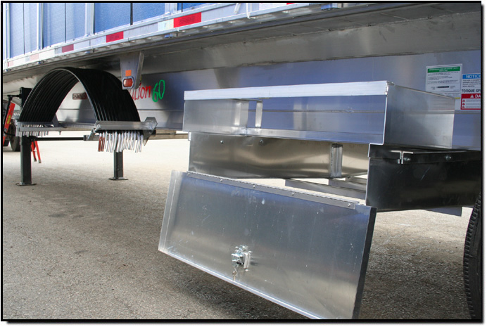 Under Rack Storage Compartments